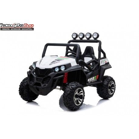 AUTO ELETTRICA PER BAMBINI NEW POLAR 24V FULL OPTIONAL 2 POSTI 4X4